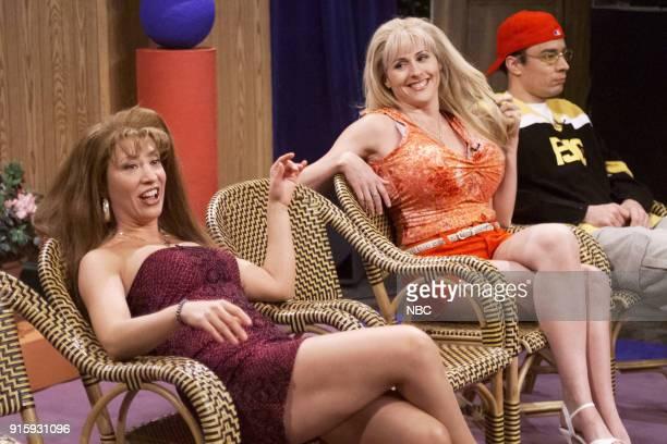 Cheri Oteri as Paulette Molly Shannon as Shauna during Jenny Jones skit on April 8 2000