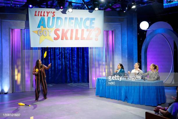 Episode 161 -- Pictured: Lilly Singh, Adam Rippon, Anna Camp --