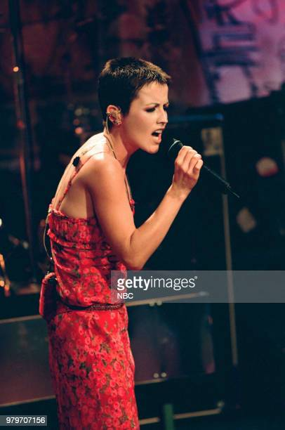 Musical guest Dolores O'Riordan of The Cranberries performing on May 21 1999