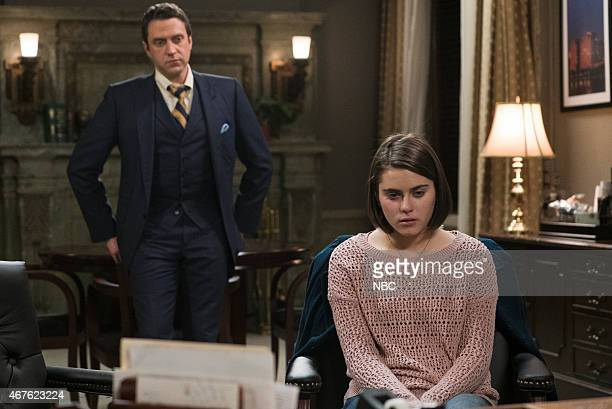 UNIT Episode 1618 'Devastating Story' Pictured Raúl Esparza as ADA Rafael Barba Ally Ioannides as Heather Manning
