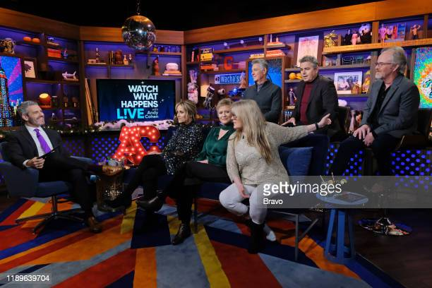 Andy Cohen Maureen McCormick Eve Plumb Susan Olsen Barry Williams Christopher Knight Mike Lookinland
