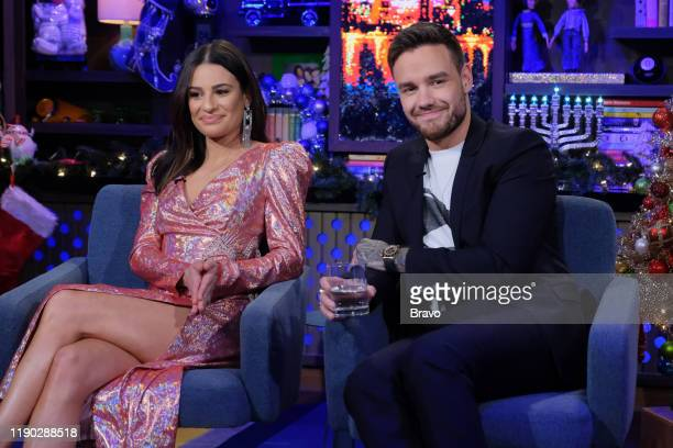 Episode 16208 -- Pictured: Lea Michele, Liam Payne --