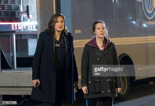 "Episode 1622 ""Parent's Nightmare"" -- Pictured: Mariska Hargitay as Detective Olivia Benson, Brooke Bloom as Dana --"