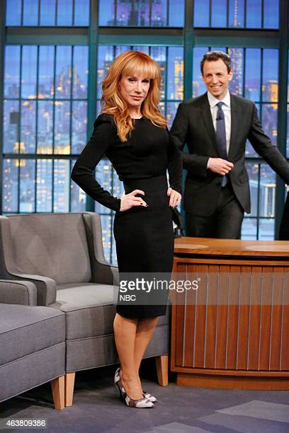 Comedian Kathy Griffin arrives on February 18 2015