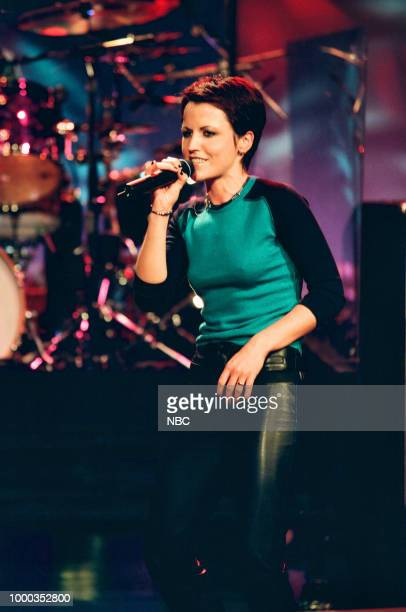 Musical guest Dolores O'Riordan of 'The Cranberries' performing on September 15 1999