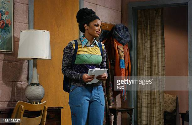 """Episode 17 -- Air Date -- Pictured: Janet Jackson as Penny during the """"Good Times"""" skit on April 10, 2004"""