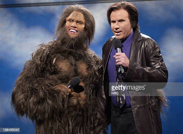 LIVE Episode 17 Air Date Pictured Dwayne Johnson as Bigfoot and Will Ferrell as Neil Diamond during All Aboard The Freedom Train Duets of Neil...