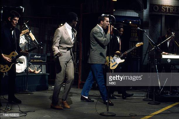 LIVE Episode 17 Air Date Pictured Guitarist Roddy Radiation singer Neville Staple Terry Hall guitarist Lynval Golding Musical guest The Specials...