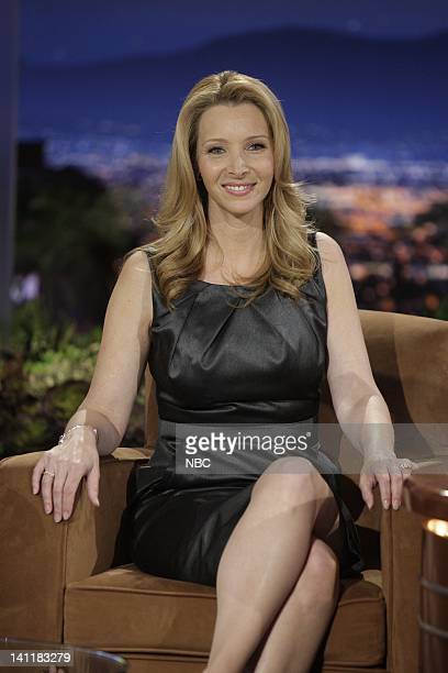 BRIEN Episode 17 Air Date Pictured Actress Lisa Kudrow during an interview on June 23 2009 Photo by Paul Drinkwater/NBCU Photo Bank