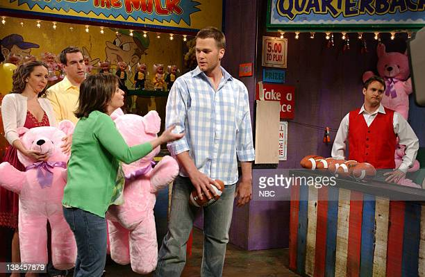 LIVE Episode 17 Aired Pictured Maya Rudolph as wife Will Forte as Earl Rachel Dratch as wife Tom Brady as Alan Chris Parnell as salesman during...