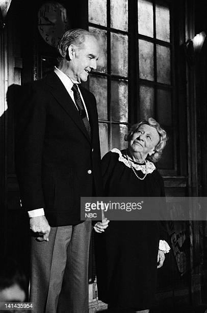 George McGovern Clara Peller on April 14 1984 Photo by Al Levine/NBC/NBCU Photo Bank