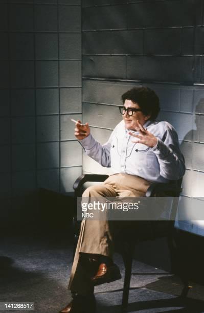 Julia Sweeney as Pat during 'Pat's Interrogation' skit on April 11 1992 Photo by Alan Singer/NBCU Photo Bank