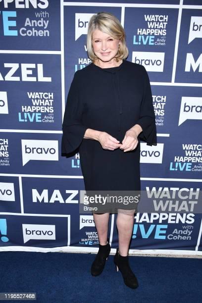Episode 17010 -- Pictured: Martha Stewart --