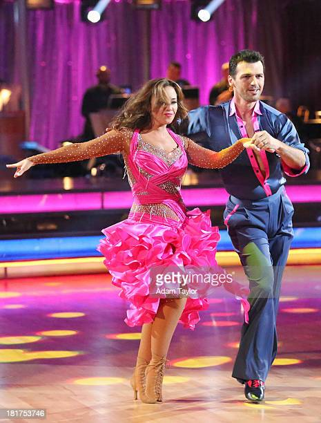 """Episode 1702"""" - The competition heated up on a Latin-themed """"Dancing with the Stars"""" as the celebrities took on new dance routines - a Samba, Jive,..."""