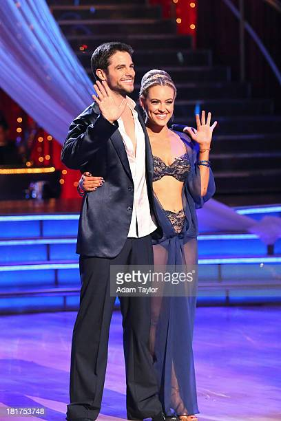 STARS 'Episode 1702' The competition heated up on a Latinthemed 'Dancing with the Stars' as the celebrities took on new dance routines a Samba Jive...