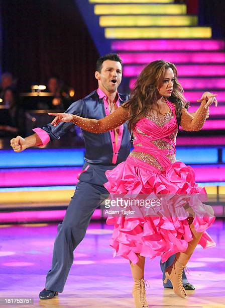 STARS Episode 1702 The competition heated up on a Latinthemed Dancing with the Stars as the celebrities took on new dance routines a Samba Jive Rumba...