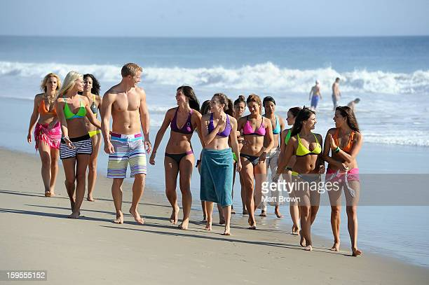 THE BACHELOR 'Episode 1703' Sean surprises a group of women with what first seems like a delightful outing on a sun splashed California beach It's...