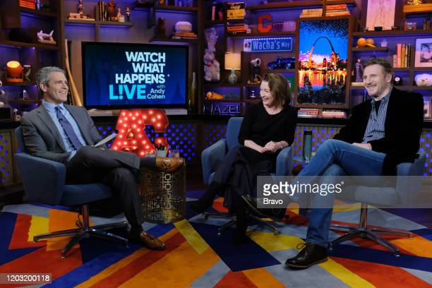 Andy Cohen Lesley Manville Liam Neeson