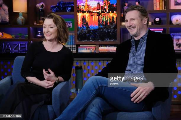 Lesley Manville Liam Neeson