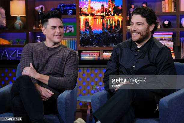 Episode 17036 -- Pictured: Tom Sandoval, Adam Pally --