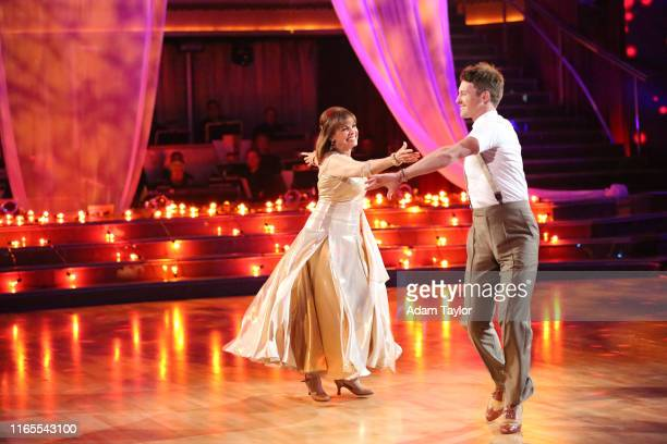 Episode 1704 10 remaining couples took to the ballroom floor on Dancing with the Stars MONDAY OCTOBER 7 VALERIE HARPER TRISTAN MACMANUS talent...