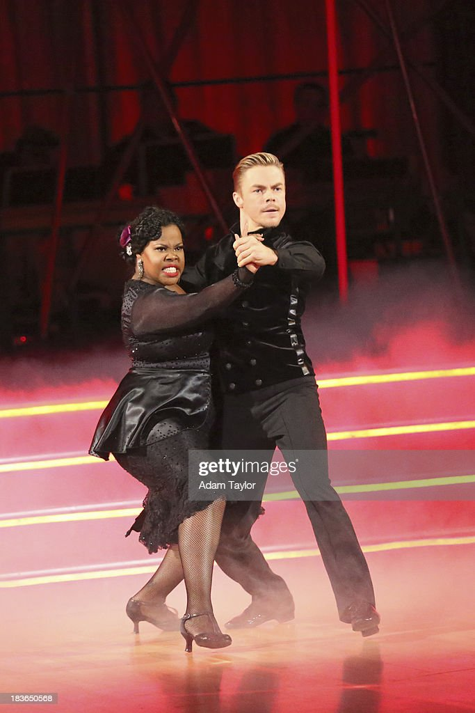 STARS - 'Episode 1704' - 10 remaining couples took to the ballroom floor on 'Dancing with the Stars,' MONDAY, OCTOBER 7 AMBER