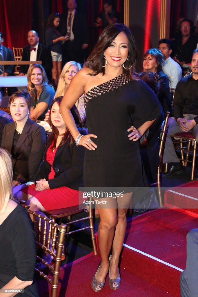 STARS - 'Episode 1704' - 10 remaining couples took to the ballroom floor on 'Dancing with the Stars,' MONDAY, OCTOBER 7 (8:00-10:01 p.m., ET). CARRIE