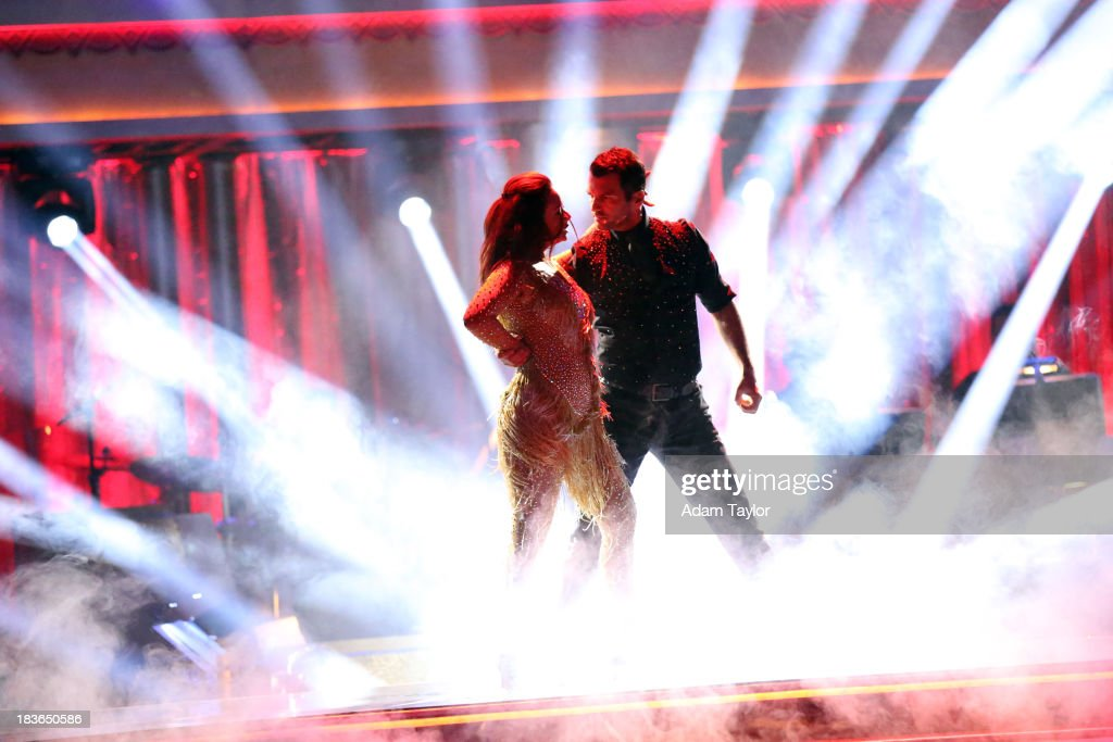 STARS - 'Episode 1704' - 10 remaining couples took to the ballroom floor on 'Dancing with the Stars,' MONDAY, OCTOBER 7 (8:00-10:01 p.m., ET). LEAH