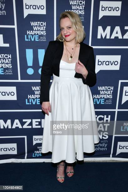 Episode 17040 -- Pictured: Elisabeth Moss -- Photo by: Charles Sykes/Bravo/NBCU Photo Bank via Getty Images)