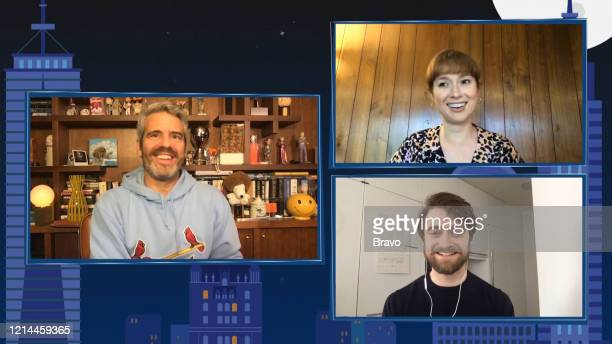 Episode 17089 -- Pictured in this screen grab: Andy Cohen, Daniel Radcliffe, Ellie Kemper --