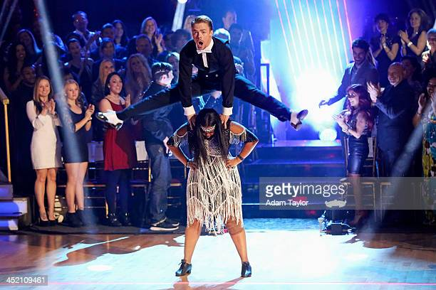 STARS 'Episode 1711' The four remaining couples competed in three rounds of dance on 'Dancing with the Stars' MONDAY NOVEMBER 25 on ABC DEREK