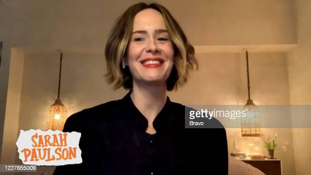 Episode 17113 -- Pictured in this screen grab: Sarah Paulson --