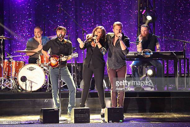 """Episode 1711A"""" - The finale featured Lady Antebellum who performed their new single """"Compass,"""" on the two-hour Season Finale on """"Dancing with the..."""