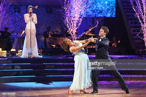 """Episode 1711A"""" - Valerie Harper danced with partner Tristan MacManus to a version of """"What a Wonderful World"""" by singer Colbie Caillat, on the..."""
