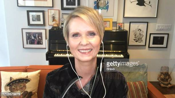 Episode 17149 -- Pictured in this screen grab: Cynthia Nixon --