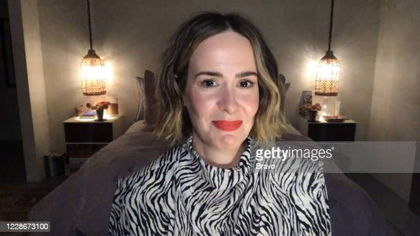 Episode 17149 -- Pictured in this screen grab: Sarah Paulson --