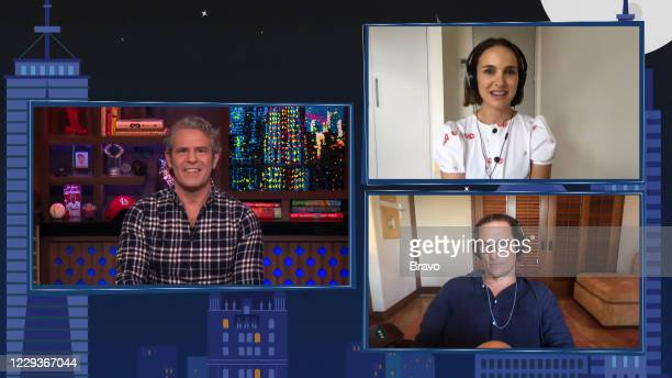 Episode 17176 -- Pictured in this screen grab: Andy Cohen, Matthew McConaughey, Natalie Portman --