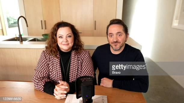 Episode 17194 -- Pictured in this screen grab: Melissa McCarthy, Ben Falcone --