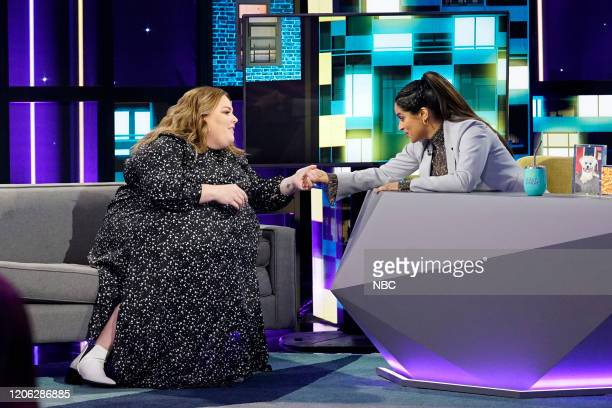 Episode 172 -- Pictured: Chrissy Metz, Lilly Singh --