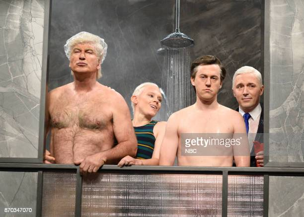 Alec Baldwin as President Donald J Trump Kate McKinnon as Attorney General Jeff Sessions Alex Moffat as Paul Manafort Beck Bennett as Vice President...