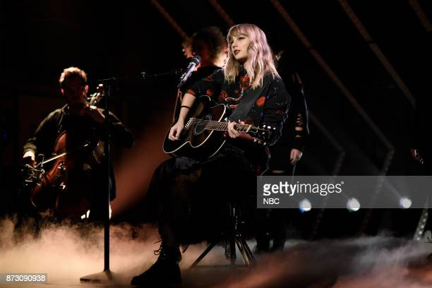 Musial Guest Taylor Swift performs 'Call It What You Want' in Studio 8H on Saturday November 11 2017