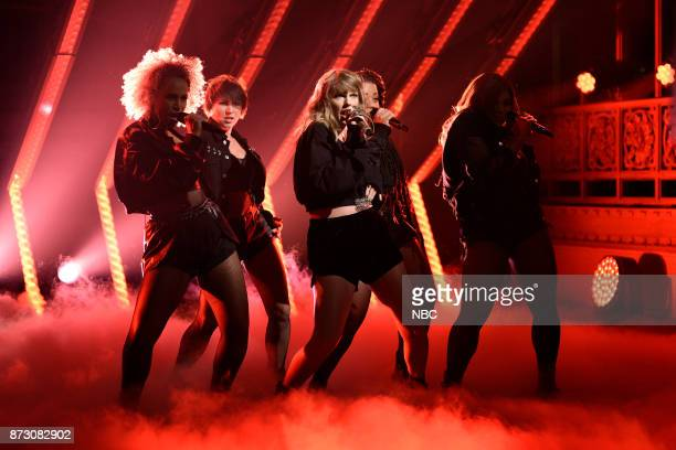 Musical Guest Taylor Swift performs Ready For It in Studio 8H on Saturday November 11 2017