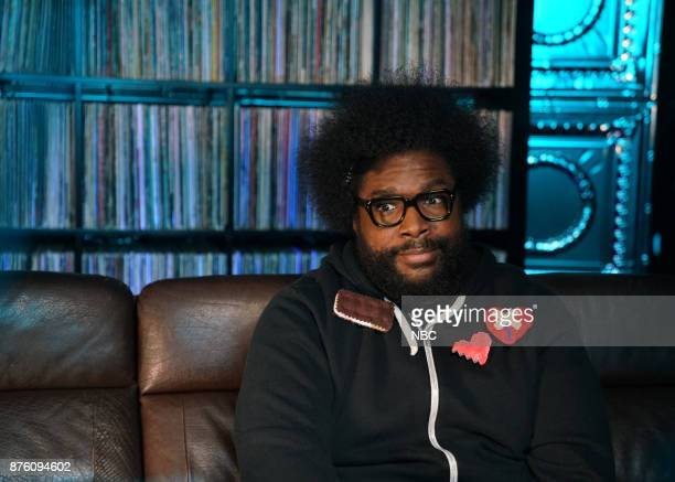 Ahmir 'Questlove' Thompson during 'Rap History'
