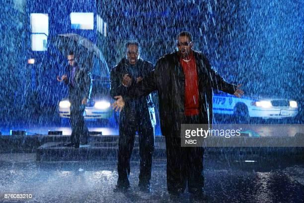 Chance The Rapper Chris Redd Kenan Thompson during 'Come Back Ballad'