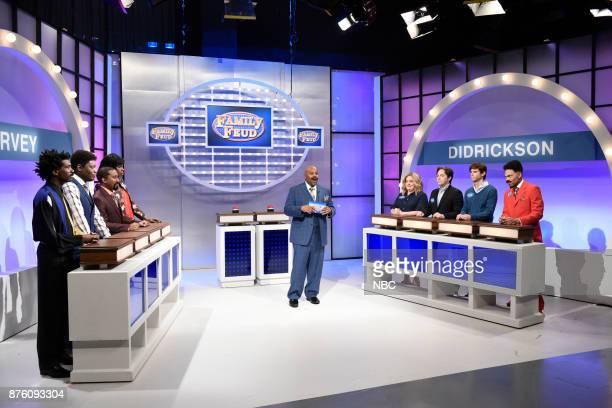 Gary Richardson as Ricky Michael Che as Andre Chris Redd as Mike Leslie Jones as Janelle Harvey Kenan Thompson as Steve Harvey Aidy Bryant as Carol...