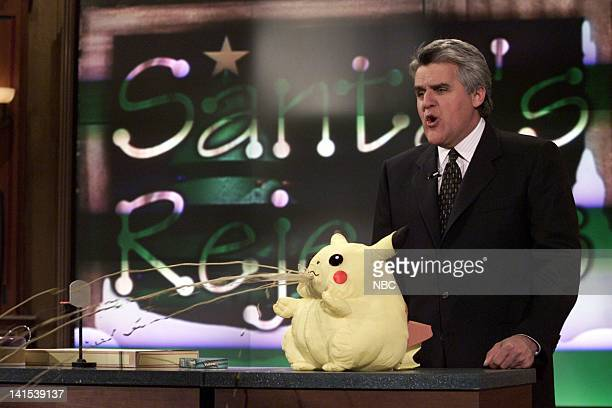 Host Jay Leno during 'Santa's Rejected Toys' on December 2 1999 Photo by NBC/NBCU Photo Bank