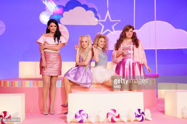 Cecily Strong Saoirse Ronan Kate McKinnon Aidy Bryant during Girl Song on Saturday December 2 2017