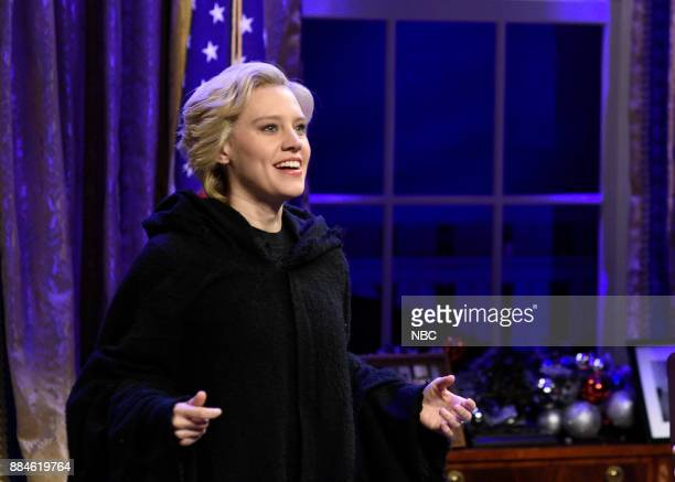 Kate McKinnon as Hillary Rodham Clinton during White House Cold Open in Studio 8H on Saturday December 2 2017