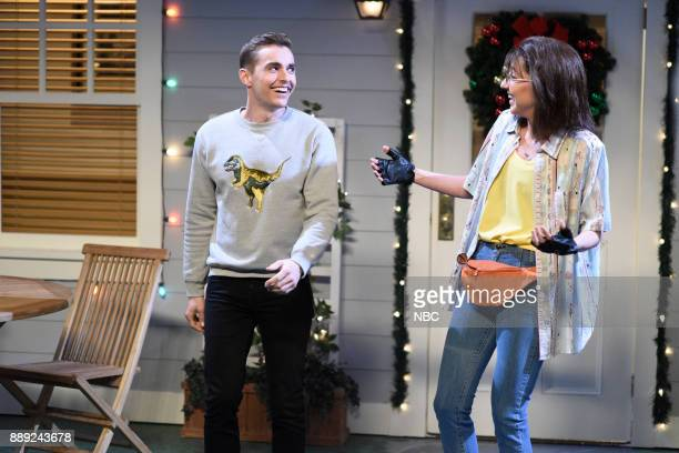 Dave Franco Heidi Gardner during Reunion in Studio 8H on Saturday December 9 2017