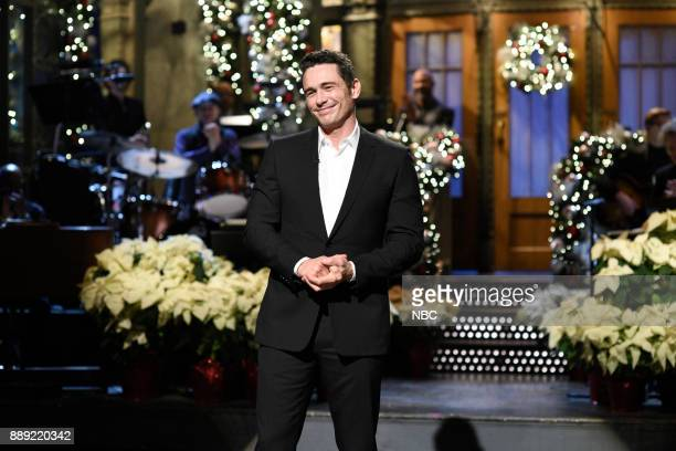 James Franco during 'Audience Questions Cold Open' in Studio 8H on Saturday December 9 2017